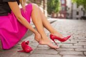 Как снять усталость от ходьбы на высоких каблуках