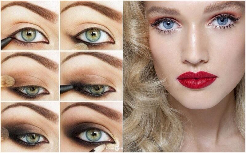 Как правильно красить глаза тенями пошаговая инструкция