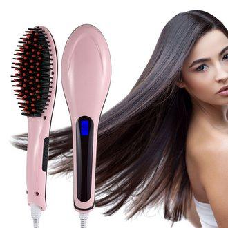 Электрическая расческа выпрямитель для волос Fast Hair Straightener