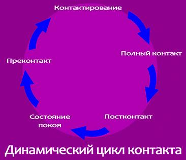 Концепция цикла контакта.